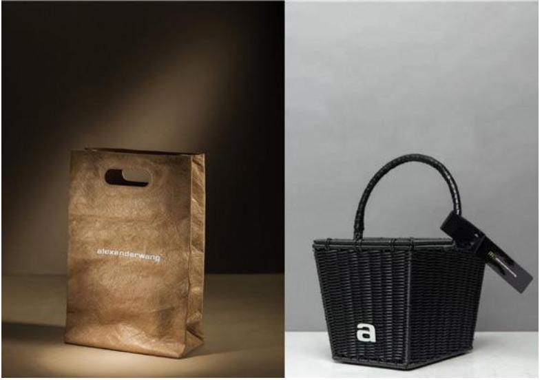 炸鸡桶、塑料袋也可以是你手中的时尚包袋